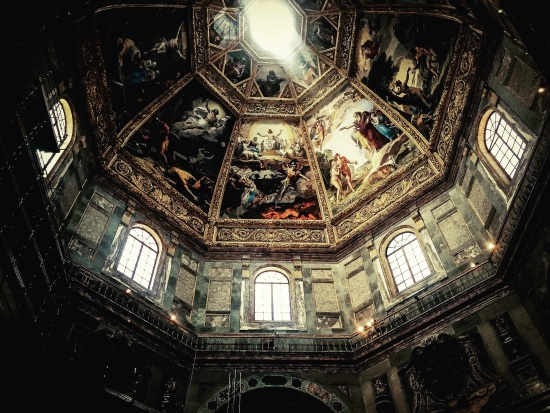 Medici Chapel in Florence, Italy