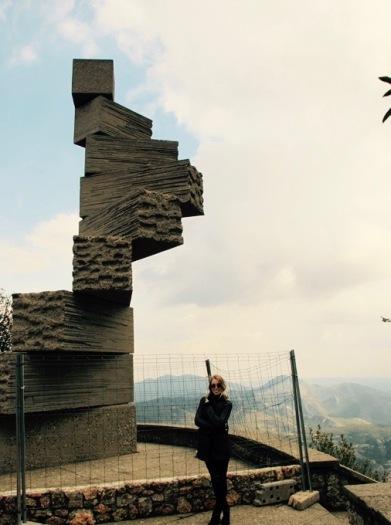 """Steps to Heaven"" Montserrat Mountain"